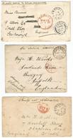 Cape Of Good Hope 1901 1902 P.O.CAMPBELL, VENTERSTAD, MATJES FONTEIN. BOER WAR. - Cape Of Good Hope (1853-1904)