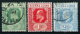 Sierra Leona (Británica) Nº 75/76-79 ... - Sierra Leone (...-1960)