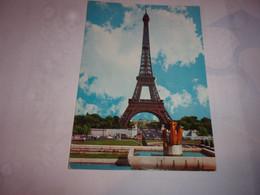 CPA CPSM CARTE POSTALE  75 PARIS  NOTRE DAME LA NUIT CORNEE HAUT GAUCHE - Eiffelturm