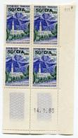 REUNION COIN DATE DU N°352A ** CILAOS DATE DU 14-1-60 - Unused Stamps