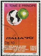 SAINT THOMAS ET PRINCE - Globe Et Ballon De Football, 1962 - Used Stamps