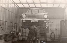 Opel Rekord Werkstatt - Automobile