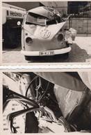VW T1 Pritsche Unfall 2 Fotos - Automobile