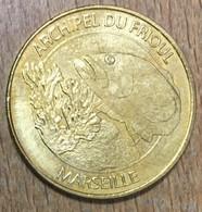 13 ARCHIPEL DU FRIOUL MARSEILLE MDP 2011 MEDAILLE SOUVENIR MONNAIE DE PARIS JETON TOURISTIQUE MEDALS COINS TOKENS - 2011