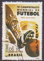 SAINT THOMAS ET PRINCE - Ballon De Football, 1950 - Used Stamps