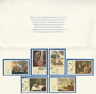 DDR 1982 Dutch Paintings Michel 2468/2473 - Unused Stamps