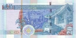 HONG KONG P. 207a 20 D 2003 UNC - Hongkong