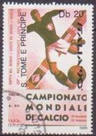 SAINT THOMAS ET PRINCE - Ballon De Football De Joueur, 1934 - Used Stamps