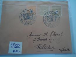 FRANCE COVER  1946 SALON DE LA PHILATELIE - Unclassified
