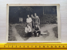 #21 Original Photo Man Men Boy Homme Garcon Pose - Anonymous Persons