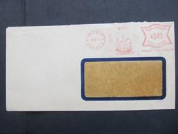 BRIEF Postfreistempel Frankotype Praha 1943 Schiff Ship  ///  C2794 - Briefe U. Dokumente