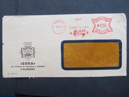 BRIEF Postfreistempel Frankotype Olomouc ZORA 1943 ///  C2795 - Briefe U. Dokumente