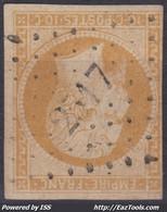 FRANCE CLASSIQUE : EMPIRE N° 13 OBLITERATION PC 2517 PONT SCORFF MORBIHAN - 1853-1860 Napoleon III