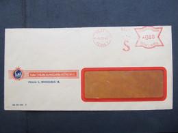 BRIEF Postfreistempel Frankotype Praha 1943 Sana  ///  C2798 - Briefe U. Dokumente