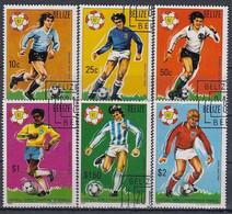 BELIZE 614-619,used,football - 1982 – Spain