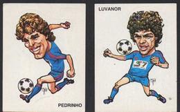 Stikers Panini 1983-84 Calcio Football Catania Luvanor Pedrinho Brasil Pirajuba Santo André FAS00388 - Edizione Italiana