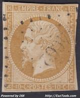 FRANCE CLASSIQUE : EMPIRE N° 13 RARE OBLITERATION PC 4062 SERENT MORBIHAN - 1853-1860 Napoleon III