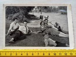 #21 Original Photo Woman Girl Femme Fille  Man Men Boy Homme Garcon Couple Pose - Anonymous Persons