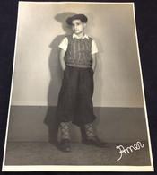 C2/6 - Menino Castiço * Joli Garcon - Fotos Amer - 1936 (16*23cm) - Anonymous Persons