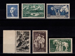 YV 581 à 586  N** MNH, 6 Timbres Cote 4,70 Euros - Unused Stamps