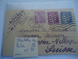 FRANCE  COVER ERROR DATE  1339   PARIS RP - Unclassified