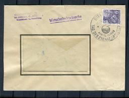 """DDR / 1960 / Sonderstempel """"Bitterfeld-Tag Des Chemiearbeiters"""" Auf Brief (6020) - Machine Stamps (ATM)"""