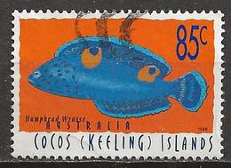 YT N° 333 - Oblitéré - Poissons - Cocos (Keeling) Islands