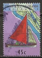 YT N° 301 - Oblitéré - Transfert Du Service Postal - Cocos (Keeling) Islands