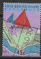 YT N° 302 - Oblitéré - Transfert Du Service Postal - Cocos (Keeling) Islands