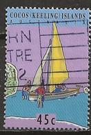 YT N° 303 - Oblitéré - Transfert Du Service Postal - Cocos (Keeling) Islands