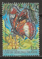YT N° 320 - Oblitéré - Insectes - Cocos (Keeling) Islands