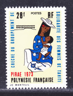 POLYNESIE N°   93 ** MNH Neuf Sans Charnière, TB (D9605) Crèche, Femmes De Tahiti- 1973 - Unused Stamps