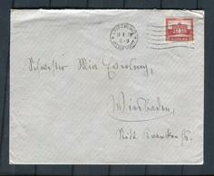 """Deutsches Reich / 1931 / Brief Ex Leipzig, Rs. Vignette """"Theosophische Kultur"""" (6021) - Covers & Documents"""