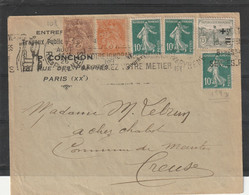 LETTRE COMPOSE 1926 - Covers & Documents