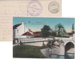 Bayern - Kriegslazarett II. Bay. AK Feldpostkarte Fp.Stat. No.3 6. Armee 1915 - Bavaria