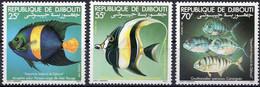 DJIBOUTI :1977: Y.527-29*** Postfris/neufs/MNH : VISSEN,POISSONS,FISHES. - Fishes