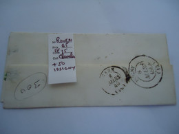 FRANCE  COVER  1846  OUEN 3   SCAN - Unclassified