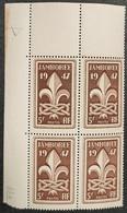 N° 787  Neuf ** Gomme D'Origine En Bloc De 4  TTB - Unused Stamps