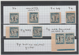 """""""RRR VF Very Valuable Collection"""" Of Ivory Coast Parcel Post Yv7 Forgeries CV 30.000€+++ !! - Unclassified"""