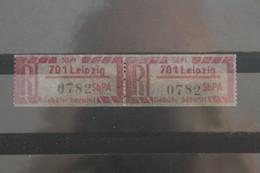 Einschreibe-Gebührenzettel Für Sb-Versuchspostämter 1967;1Cy; 701 Leipzig; **Z - Unclassified