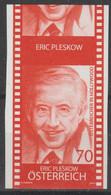 """2014 - ÖSTERREICH - Nachdruck """"Eric Pleskow""""  70 C Rot - ** Postfrisch - S.Scan  (nd Pleskow At) - Proofs & Reprints"""