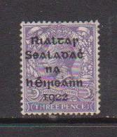 IRELAND    1922    3d  Violet    Printed  By  Dollard    USED - Used Stamps