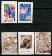 AUSTRALIE 2008 N° 2973/2974 2976 2977 2979 ** Neufs MNH Superbes C 7.20 € Messages Carte Globe Ballons Alliance Coeur - Mint Stamps