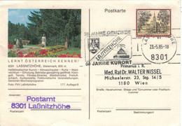 8301 Lassnitzhöhe 1985 Kurort Klima-Schaukel Wald Freiluft-Schach - Thermalisme