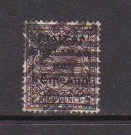 IRELAND    1922    9d  Agate    Black  Opt    Printed  By  Dollard    USED - Used Stamps