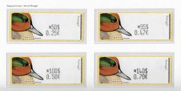 PORTUGAL STAMP - 2000 ATM LABELS - BIRDS MNH (CRL6#11) - ATM/Frama Labels