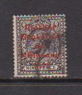 IRELAND    1922    9d  Agate    Red  Opt    Printed  By  Dollard    USED - Used Stamps