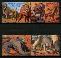 AUSTRALIE 2008 N° 2980/2985 ** Neufs MNH Superbes C 9.80 € Faune Géante Genyornis Procoptodon Megalania Animaux - Mint Stamps