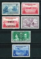 Terranova (Británica) LOTE 6 Sellos - 1908-1947