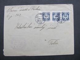 BRIEF Stannern Stonarov - Telc 1943  ///  C2809 - Briefe U. Dokumente